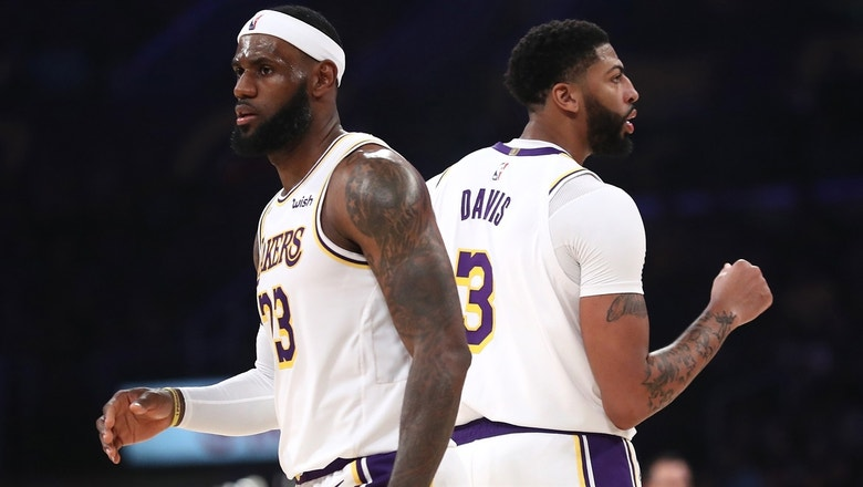 Shannon Sharpe calls Lakers' preseason blowout of Warriors 'just a sample of what's to come'