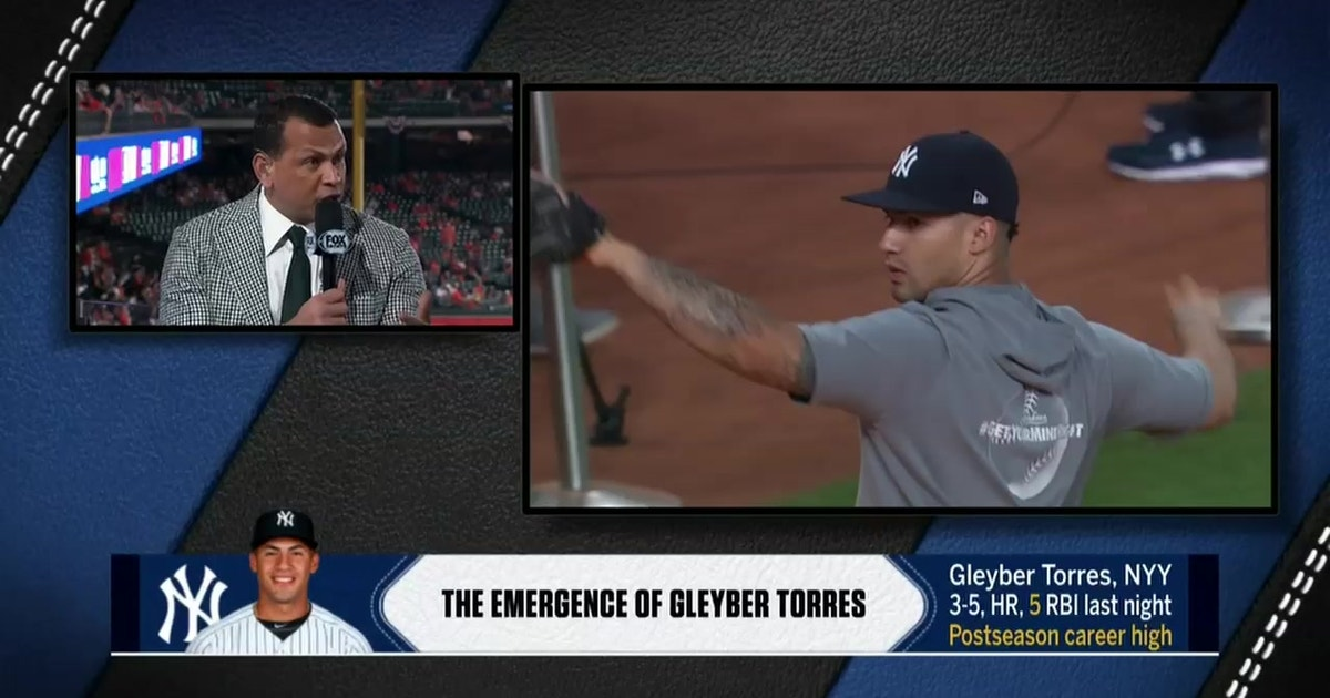 A-Rod: 22-year-old phenom Gleyber Torres is a 'Future MVP and Gold Glover'