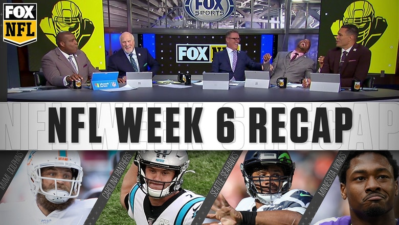 Week 6: Winless Dolphins, Panthers' QB dilemma, and Vikings' resurgence | FOX NFL