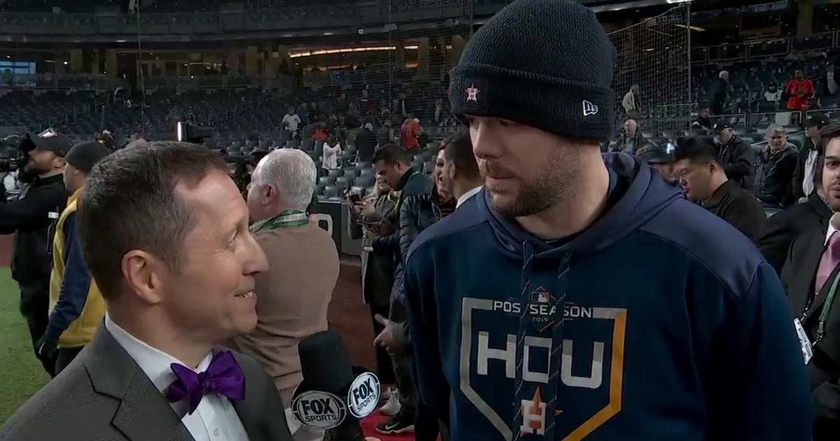 Ryan Pressly: 'You better bring your A game when you come play us'