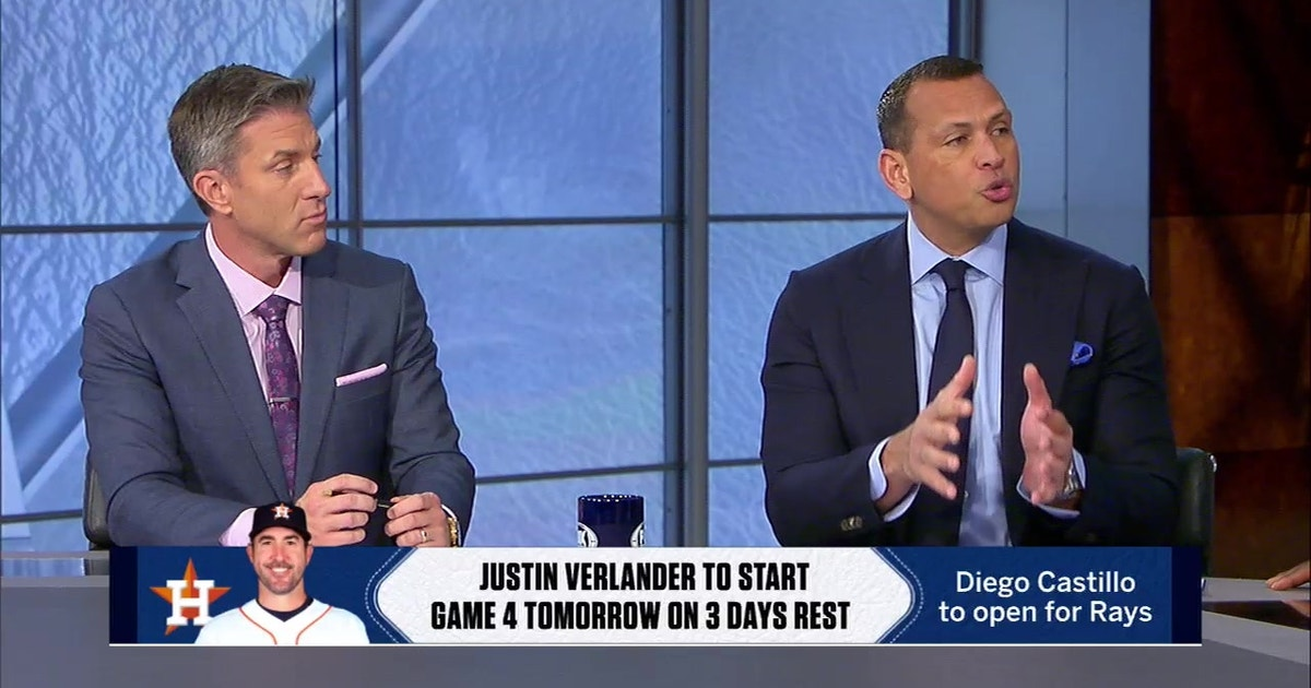 A-Rod: There is 'tons of pressure' on Astros to close Rays out in ALDS Game 4