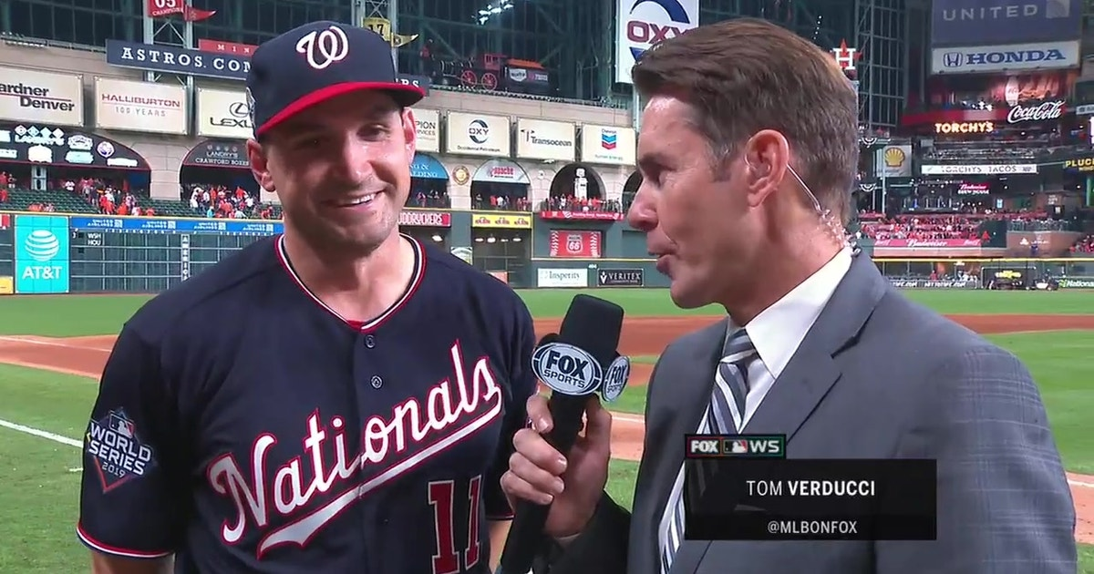 Ryan Zimmerman breaks down his emotions as he hit the Nationals' first ever World Series homer