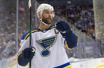 Pietrangelo scores tiebreaker, Blues beat Maple Leafs 3-2