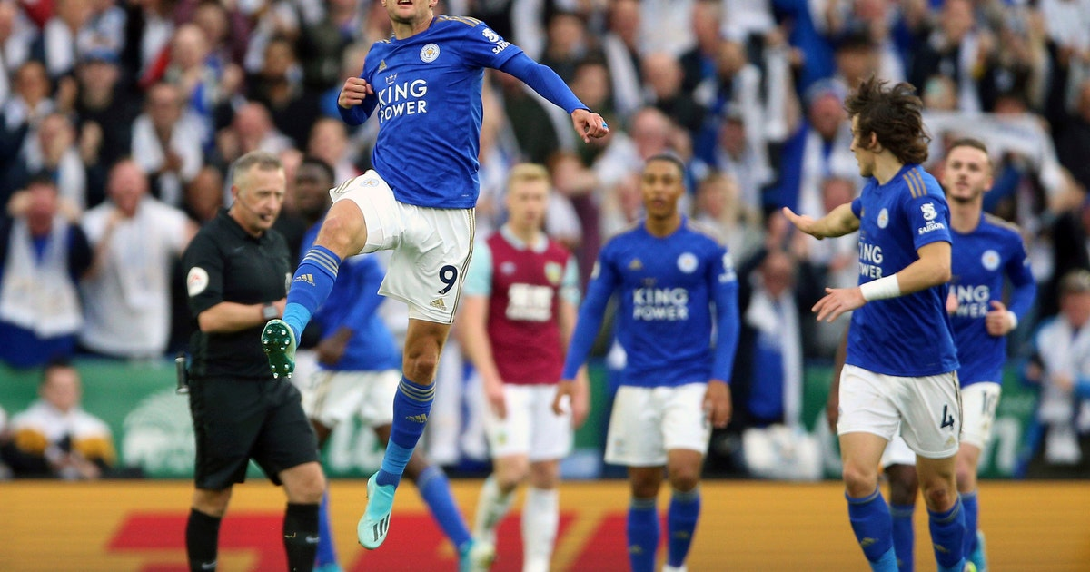 Leicester rallies to beat Burnely 2-1 in Premier League   FOX Sports