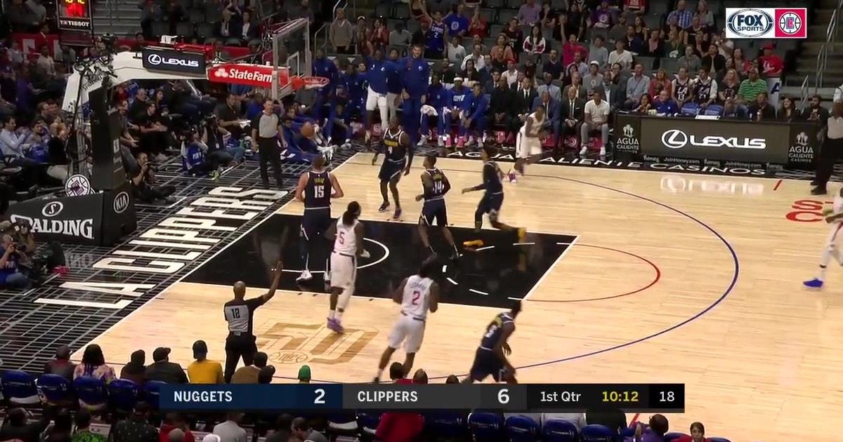 WATCH: Kawhi Leonard makes first 2 shots in a Clippers uniform