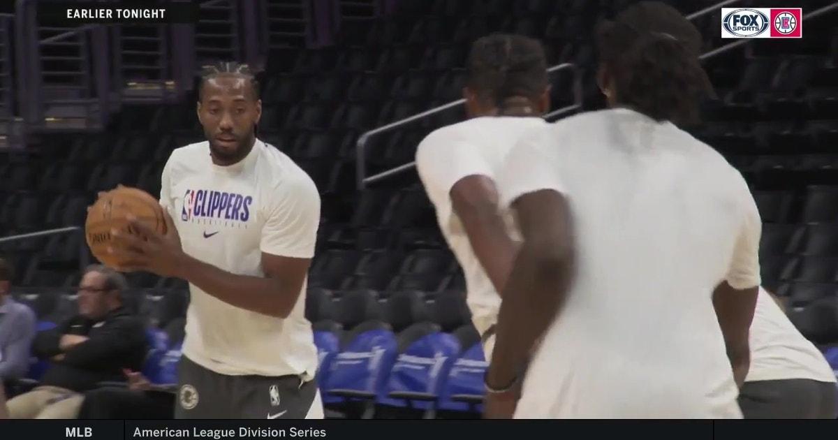 Kawhi Leonard set to make preseason debut vs. Nuggets | Clippers LIVE