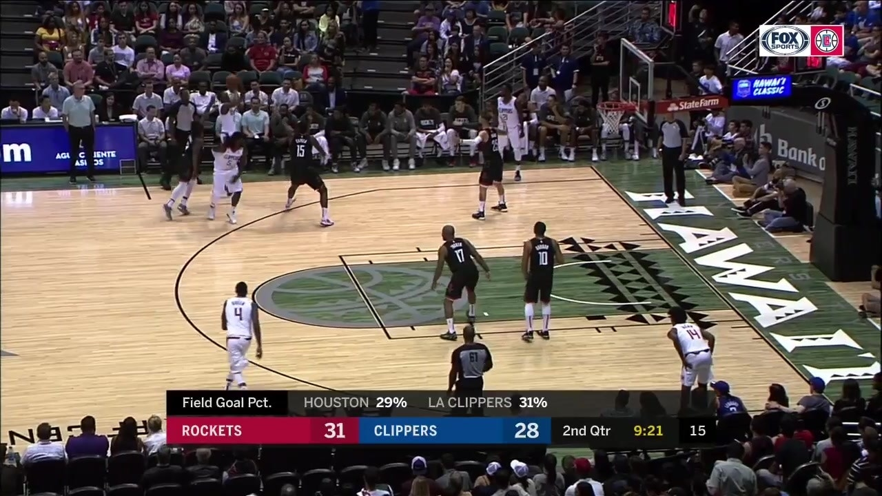 Highlights From The Clippers Preseason Opener In Hawaii