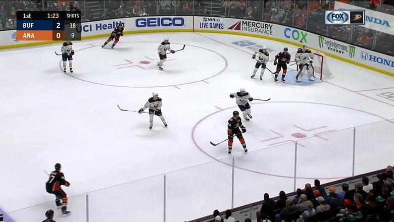 HIGHLIGHTS: Ducks top Sabres 5-2, Henrique scores twice