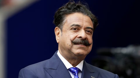 <p>               In this Sept. 24, 2017 file photo, Jacksonville Jaguars owner Shahid Khan stands before an NFL football game against between the Jaguars and the Baltimore Ravens at Wembley Stadium in London. Khan announced Wednesday, Oct. 2, 2019, that he is a majority investor in the nation's only 24-hour news network aimed at African American viewers. The network is to begin broadcasting in November and will be based in Tallahassee, Florida's capital, with bureaus around the country. (AP Photo/Matt Dunham, File)             </p>
