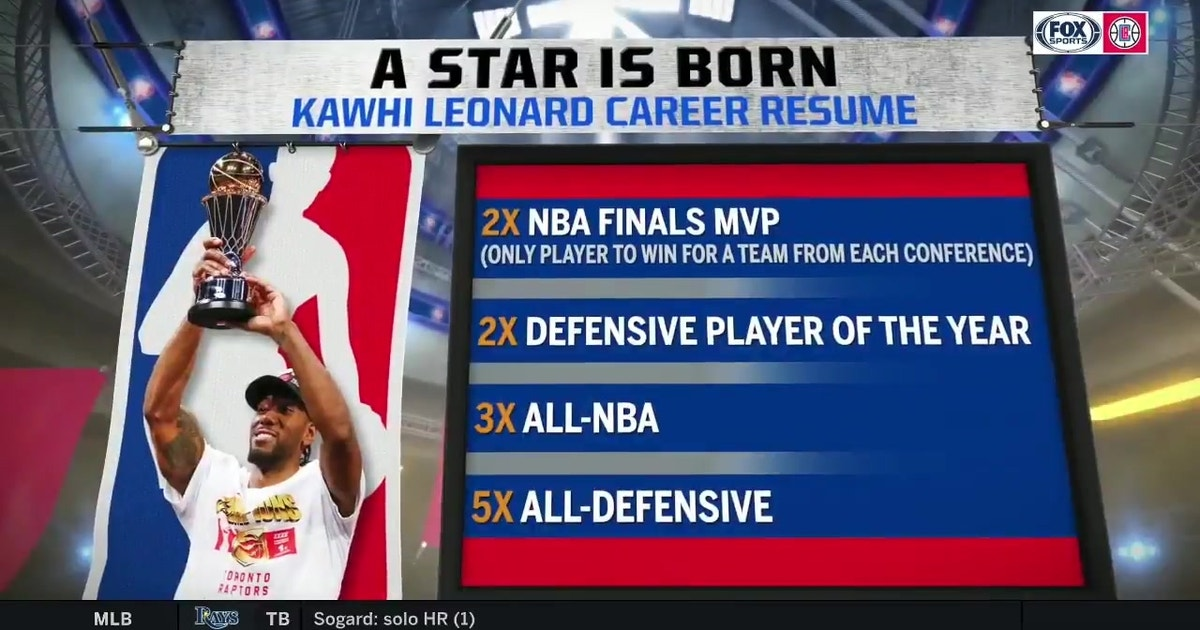 Kawhi Leonard brings impressive resume to Clippers | Clippers LIVE