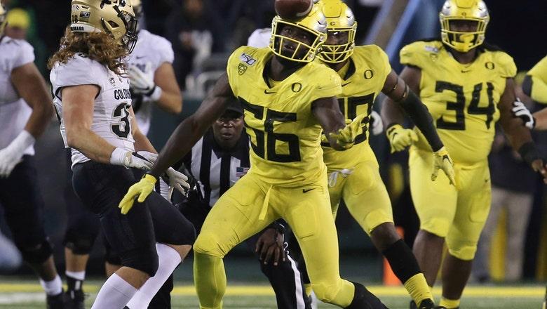 No. 12 Oregon's defense off to historic start