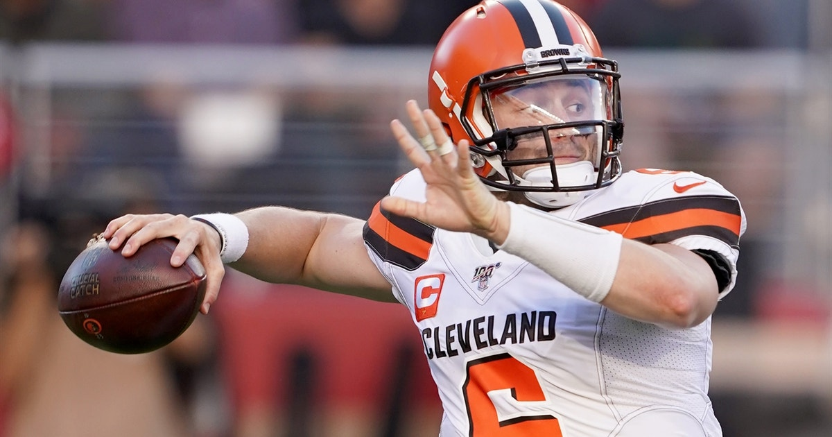 Cris Carter believes Baker Mayfield should model his game after Drew Brees