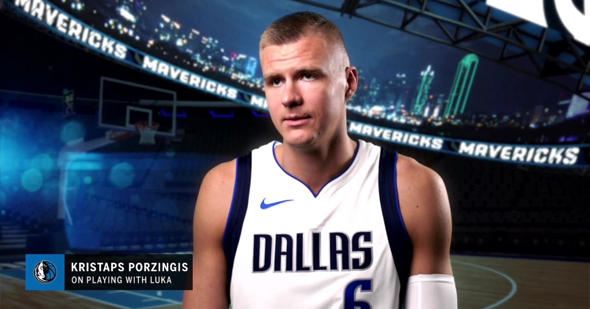 Kristaps Porzingis on Playing with Luka Doncic