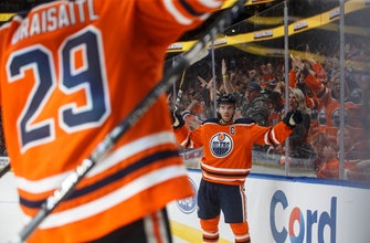 Draisaitl's goal in OT lifts Oilers to 4-3 win over Capitals