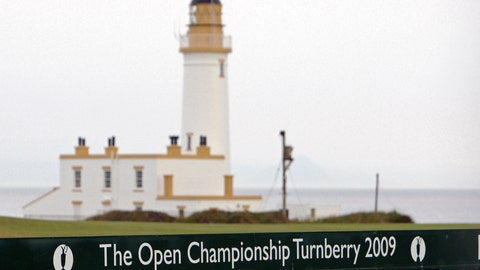<p>               FILE - This July 2, 2009, file photo, shows the Turnberry Lighthouse on the Ailsa Course at the Turnberry golf course in Scotland. President Donald Trump's two golf resorts in Scotland posted losses for the fifth year in a row as the properties contend with a struggling local economy and a backlash against their owner's divisive politics. (AP Photo/Scott Heppell, File)             </p>