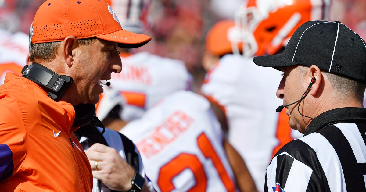 Undefeated Clemson not bothered by slide from No. 1 | FOX Sports