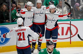 Caps top Stars 4-1; 1st regulation win in Dallas in 24 years