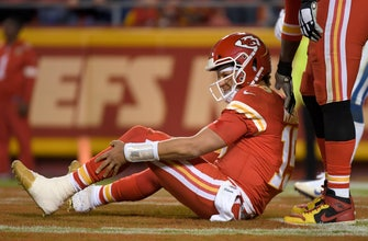 Patrick Mahomes' magic fizzles without mobility