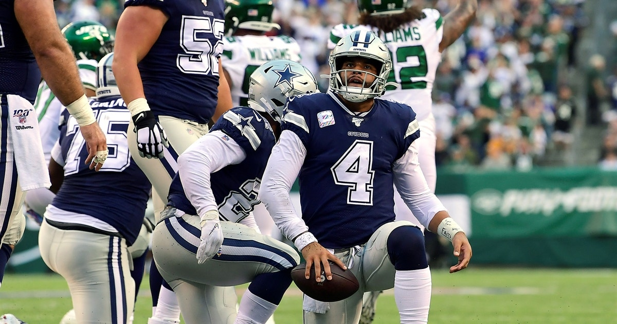 Cris Carter is alarmed by the Cowboys lost to the Jets