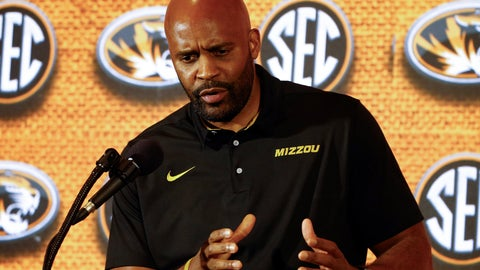 <p>               FILE - In this Oct. 17, 2018, file photo, Missouri coach Cuonzo Martin speaks during the SEC men's NCAA college basketball media day in Birmingham, Ala. There is no five-star prospect for Missouri to hang its hopes on this season, nor is there a hot-shot brother of a five-star prospect who himself brought the Tigers big expectations. Instead, Martin might have his most complete and compelling team since arriving in Columbia, one that figures to improve significantly on its 5-13 record in the SEC last season. (AP Photo/Butch Dill, File)             </p>