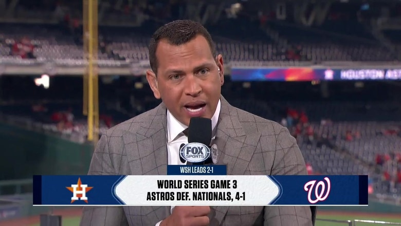 Alex Rodriguez: 'The winner of Game 4 will win the World Series'