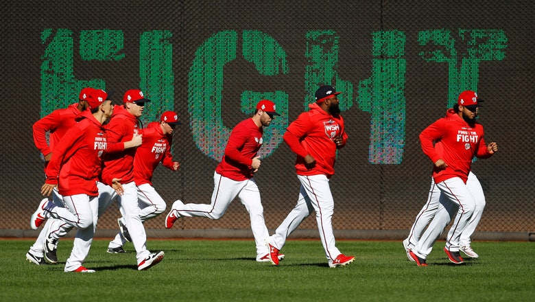 Waiting game: Nationals get 6 days off before World Series