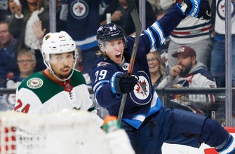 Laine's 2 goals, 2 assists help Jets beat Wild 5-2
