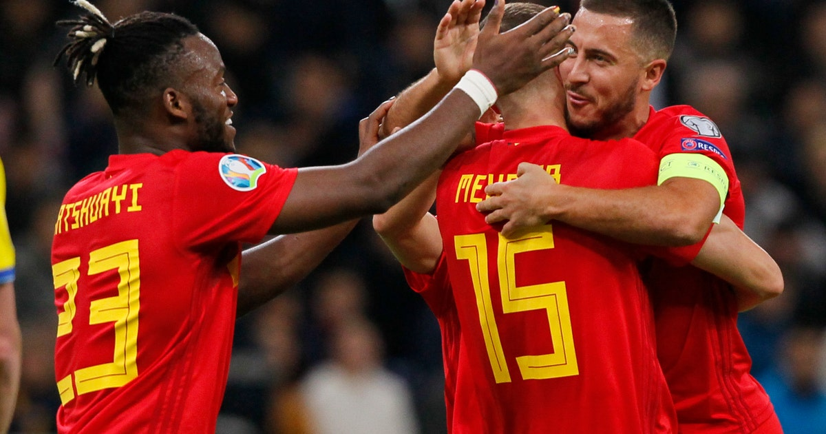 Belgium beats Kazakhstan to stay perfect in Euro qualifying | FOX Sports
