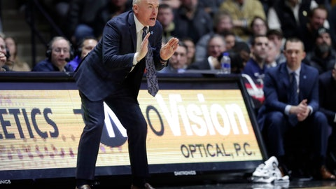 <p>               FILE - In this Feb. 16, 2019, file photo, Penn State head coach Patrick Chambers yells from the sideline during the first half of an NCAA college basketball game against Purdue in West Lafayette, Ind. Chambers will likely tinker with the lineup through a non-conference schedule that includes Alabama and NCAA tournament qualifiers Yale and Ole Miss. (AP Photo/Michael Conroy, File)             </p>