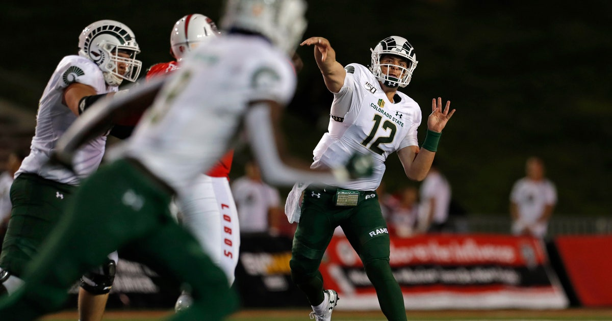 O'Brien, Jackson lead Colorado State over New Mexico 35-21 | FOX Sports