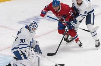 Drouin scores 2 on breakaways, Montreal tops Toronto 5-2