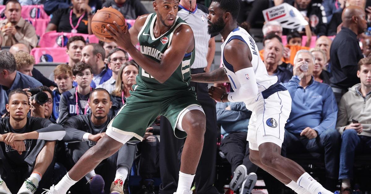 Bucks improve to 3-0 in preseason with win over Dallas | FOX Sports