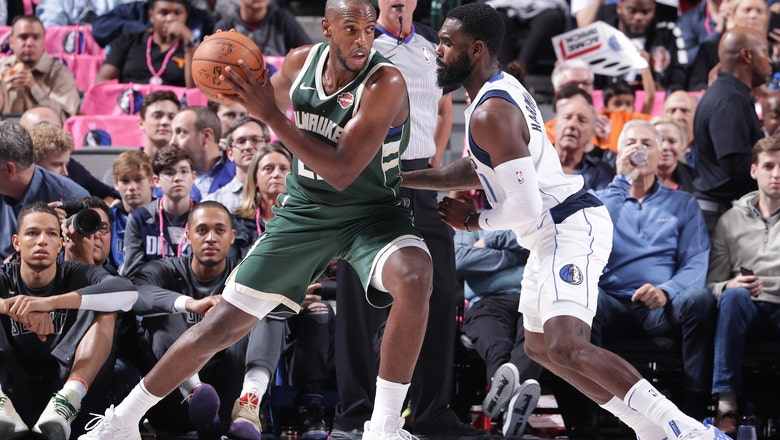 Bucks improve to 3-0 in preseason with win over Dallas