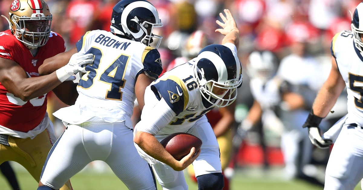 Cris Carter explains why the Rams struggled against the 49ers without Todd Gurley