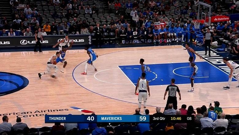HIGHLIGHT: It's The Luka Special vs. Oklahoma City