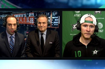 Josh and Razor Discuss the Win with Corey Perry