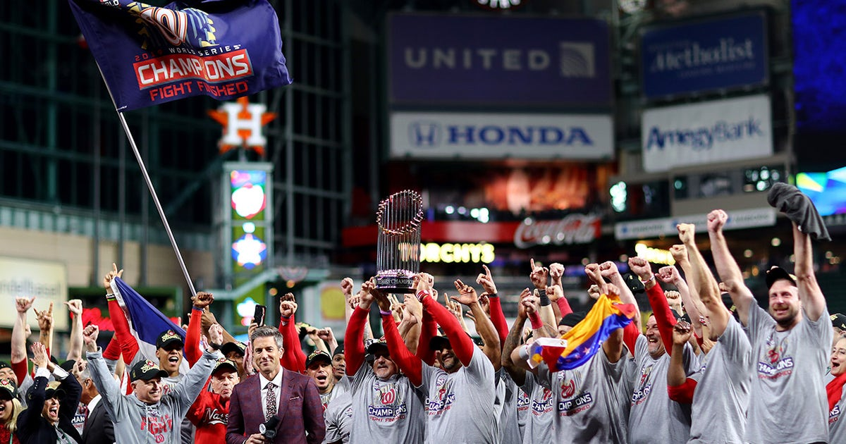 The Washington Nationals won a World Series that was all about heart | FOX Sports