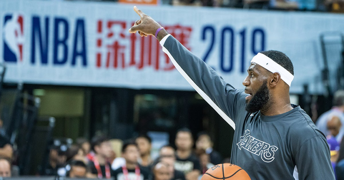 LeBron James' comments fan the flames of the NBA-China conversation | FOX Sports