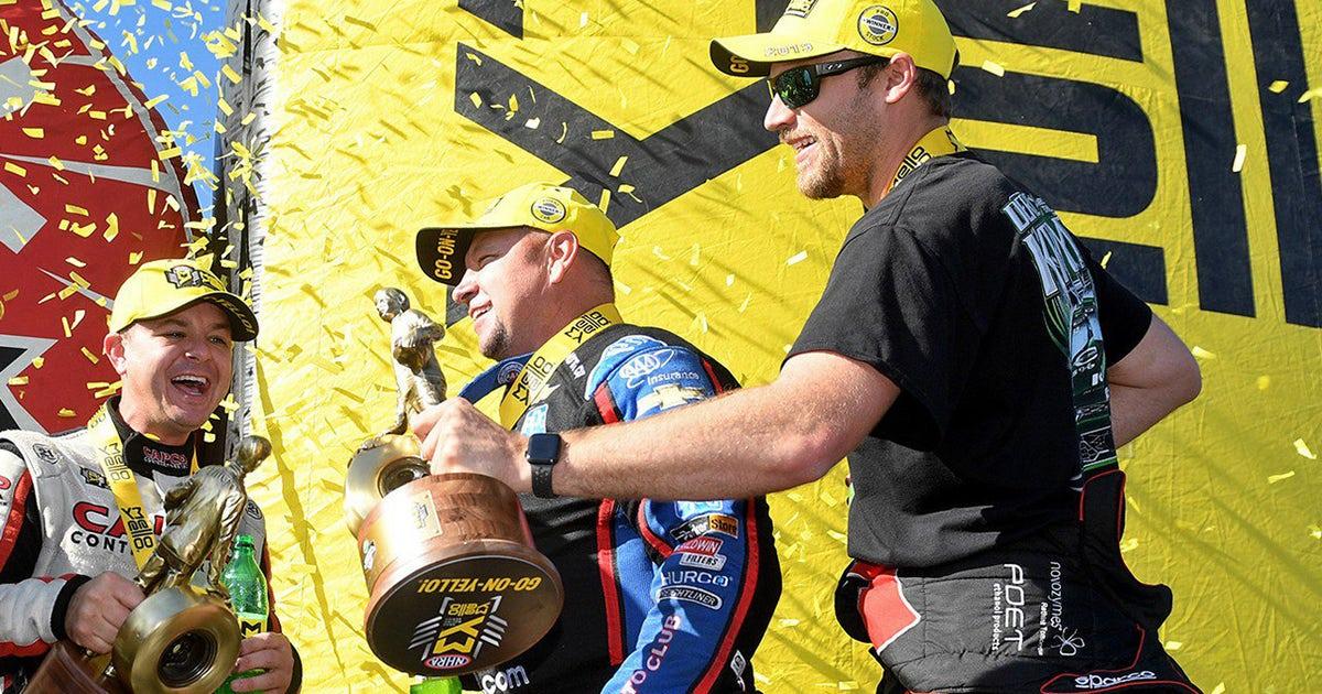 Steve Torrence, Robert Hight and Deric Kramer take home wins at the Carolina Nationals | NHRA DRAG RACING