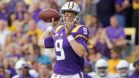 ON THE RISE: Joe Burrow, LSU QB