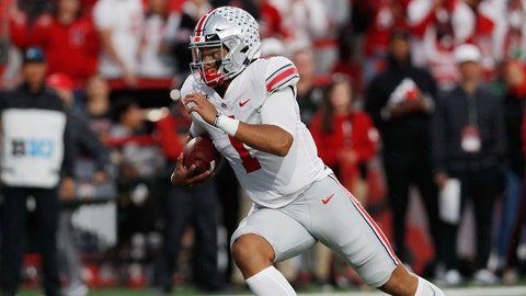 ON THE RISE: Justin Fields, Ohio State QB