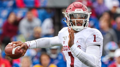 ON THE RISE: Jalen Hurts, Oklahoma QB