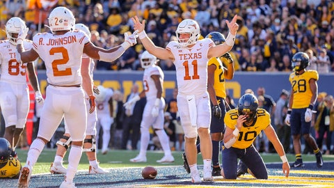 FALL GUY: Sam Ehlinger, Texas QB
