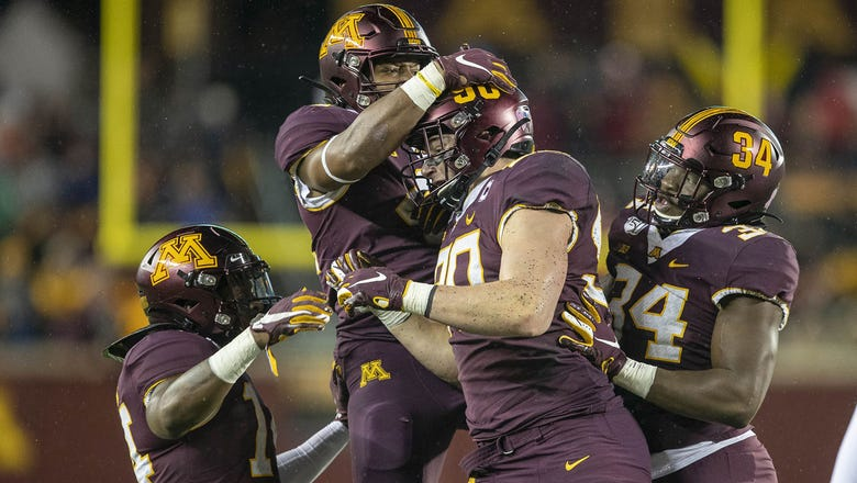 Gophers' 6-0 start rewarded with No. 20 ranking in AP top-25 poll