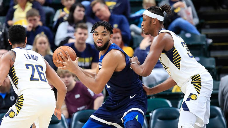 Timberwolves' Towns puts up 33 points in preseason tune-up