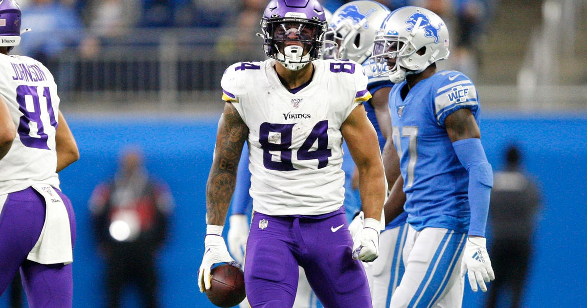 Vikings Snap Counts: Tight ends get involved   FOX Sports