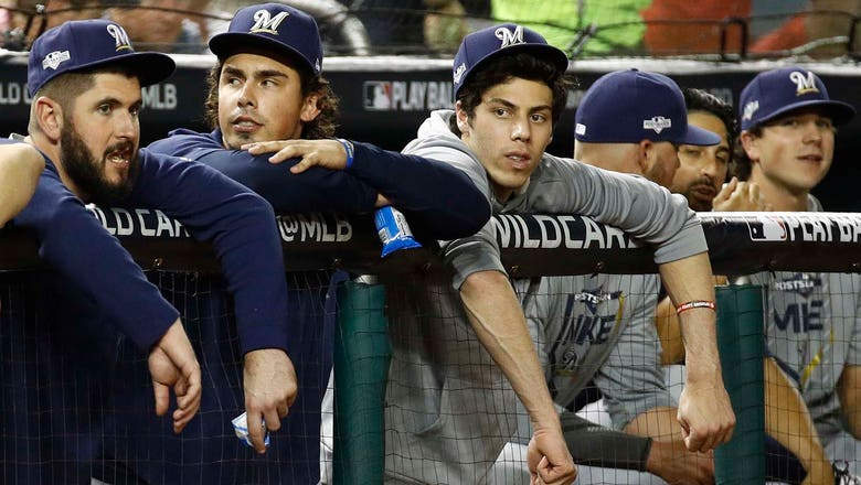 Yelich: Brewers 'can be proud of a lot of things' after wild-card loss