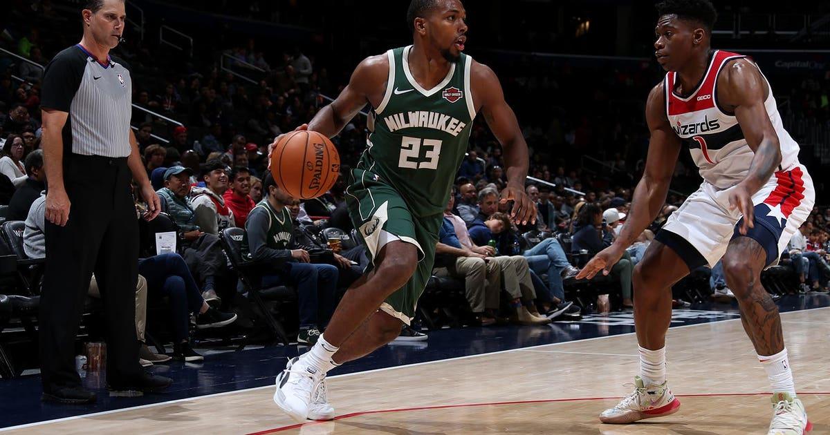Antetokounmpo sits, Bucks top Wizards 115-108 in preseason test | FOX Sports