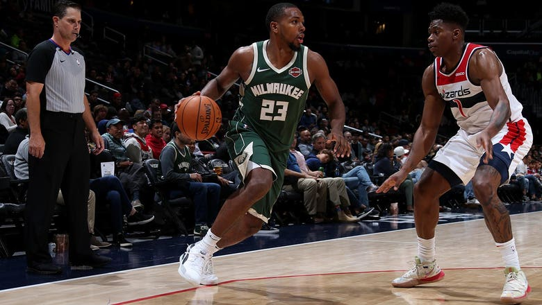 Antetokounmpo sits, Bucks top Wizards 115-108 in preseason test