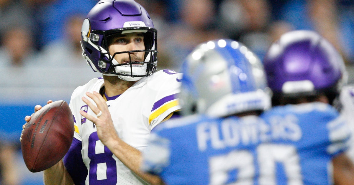 StaTuesday: Minnesota Vikings' Kirk Cousins lighting it up after rough start